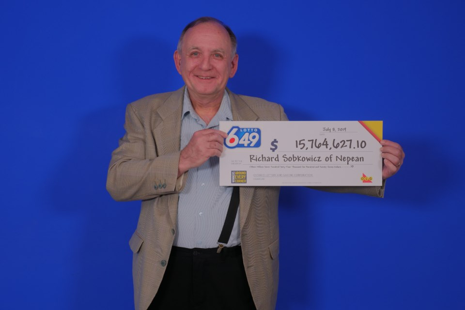 Lotto 649_July 3, 2019_$15,764,627.10_Richard Sobkowicz of Nepean