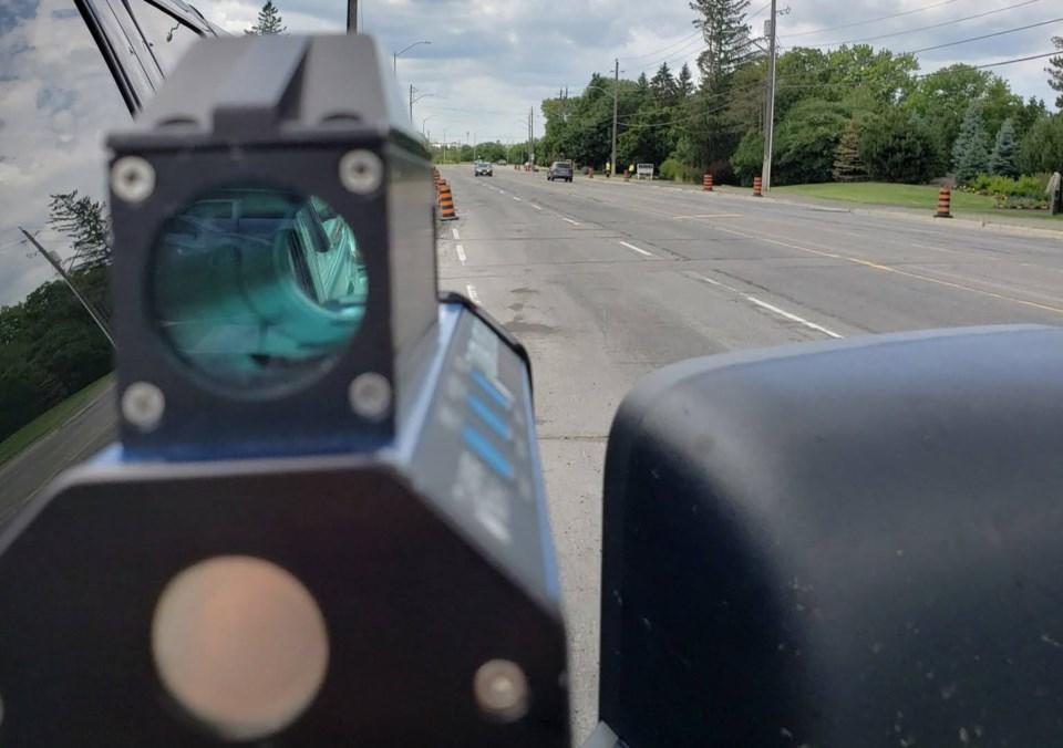 2020-09-21 speed gun radar ottawa police