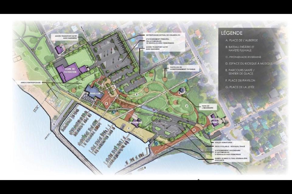 Parc des Cèdres development and design master plan, June 2019. Photo/ City of Gatineau