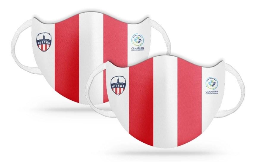2020-05-22 COVID-19 atletico ottawa facemasks