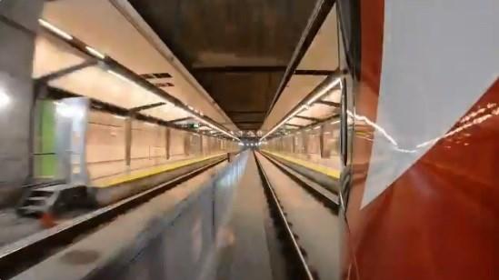 2018-11-14 LRT train video screen grab