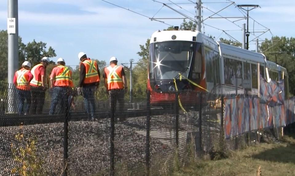 2021-09-20 light rail lrt derailment o-train oc transpo