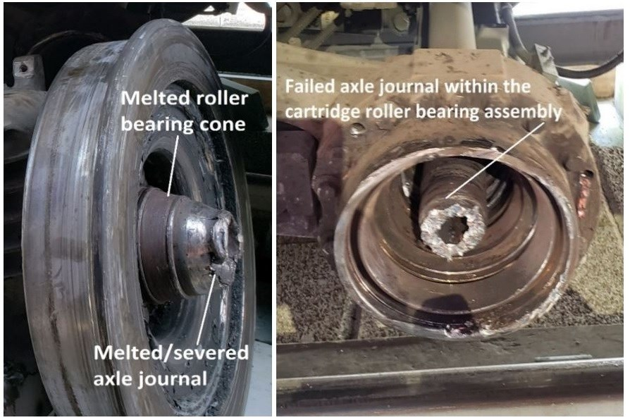 2021-09-27 melted bearing cone o-train