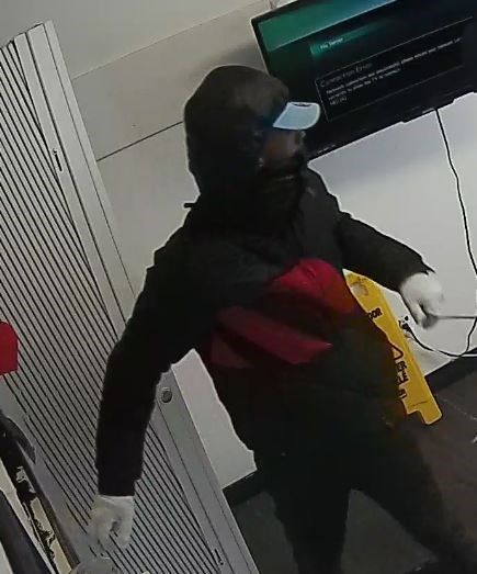 Suspect in an armed robbery in the 200-block of Montreal Rd., February 17, 2018. Photo/Ottawa Police Service