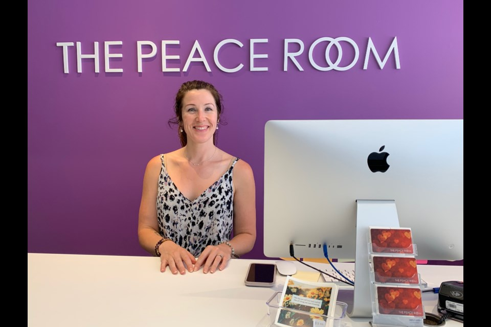 Catherine Hull, co-founder of 'The Peace Room on Sparks Street (Andrew Pinsent/OttawaMatters.com)