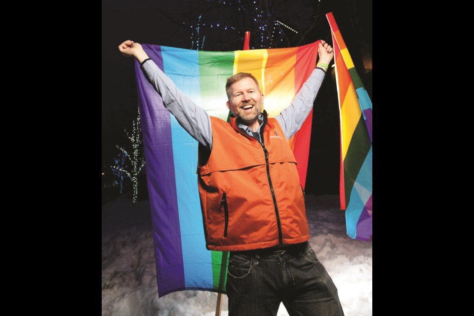 Former director of the Whistler Pride and Ski Festival, Dean Nelson.