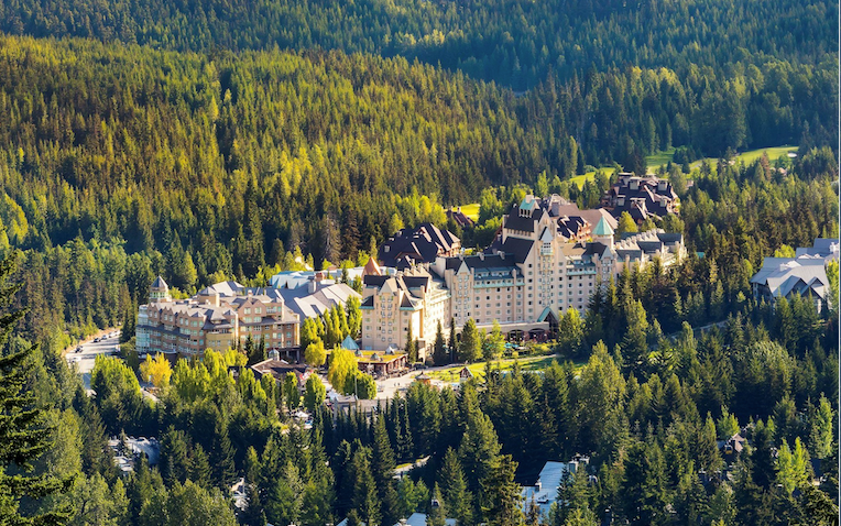 Fairmont Chateau Whistler in Summer