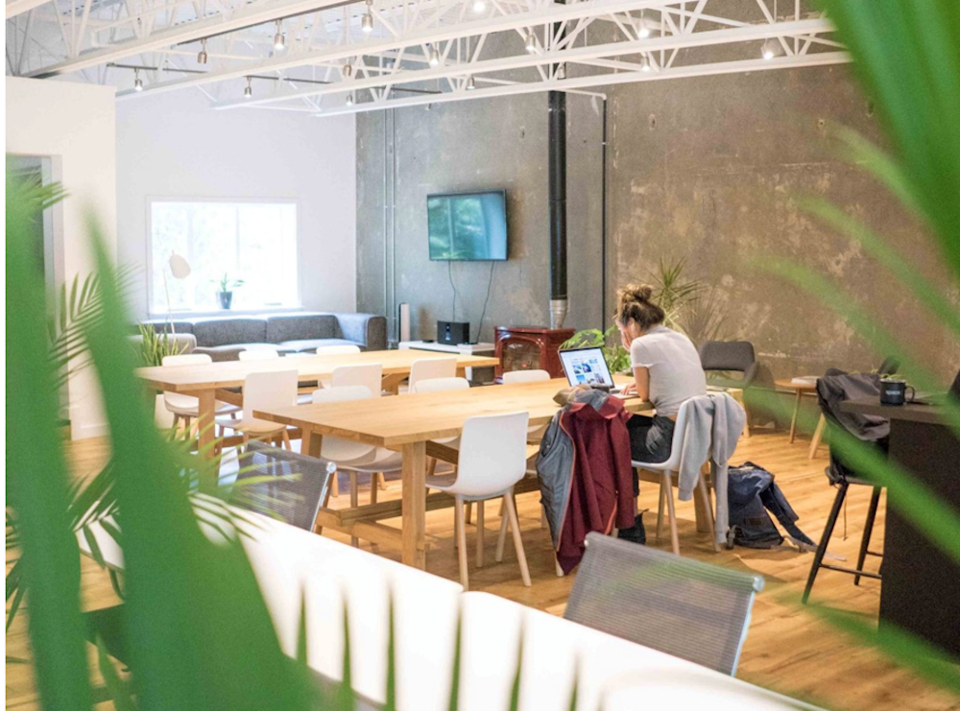 remote work space coworking in whistler function junction