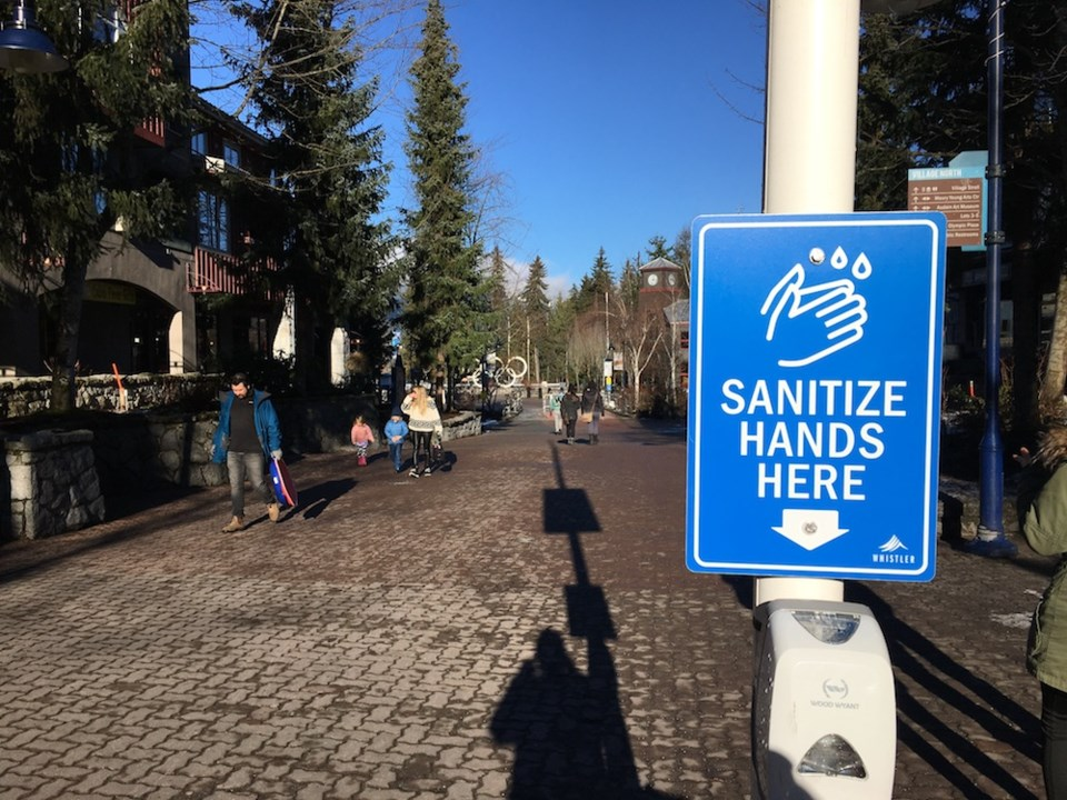letter - empty whistler village - bc covid by Braden Dupuis