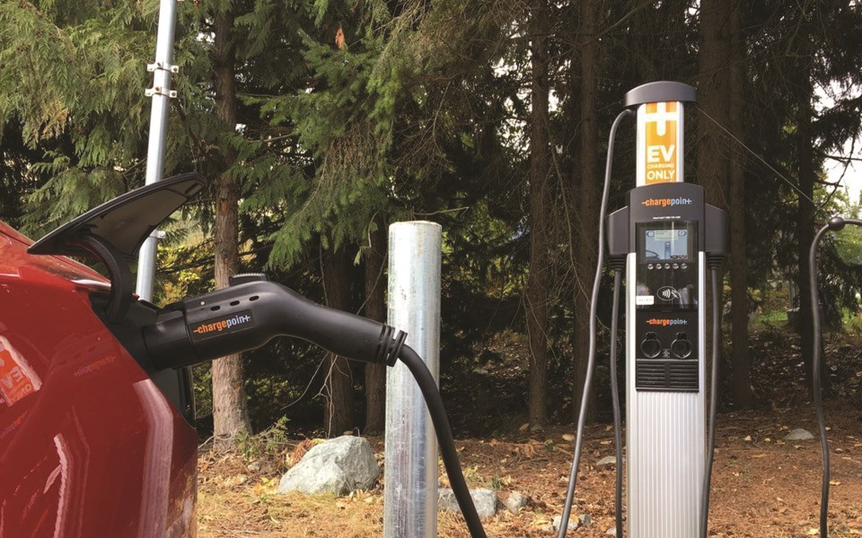 n-council briefs 28.29 ev charger Whistler day lot