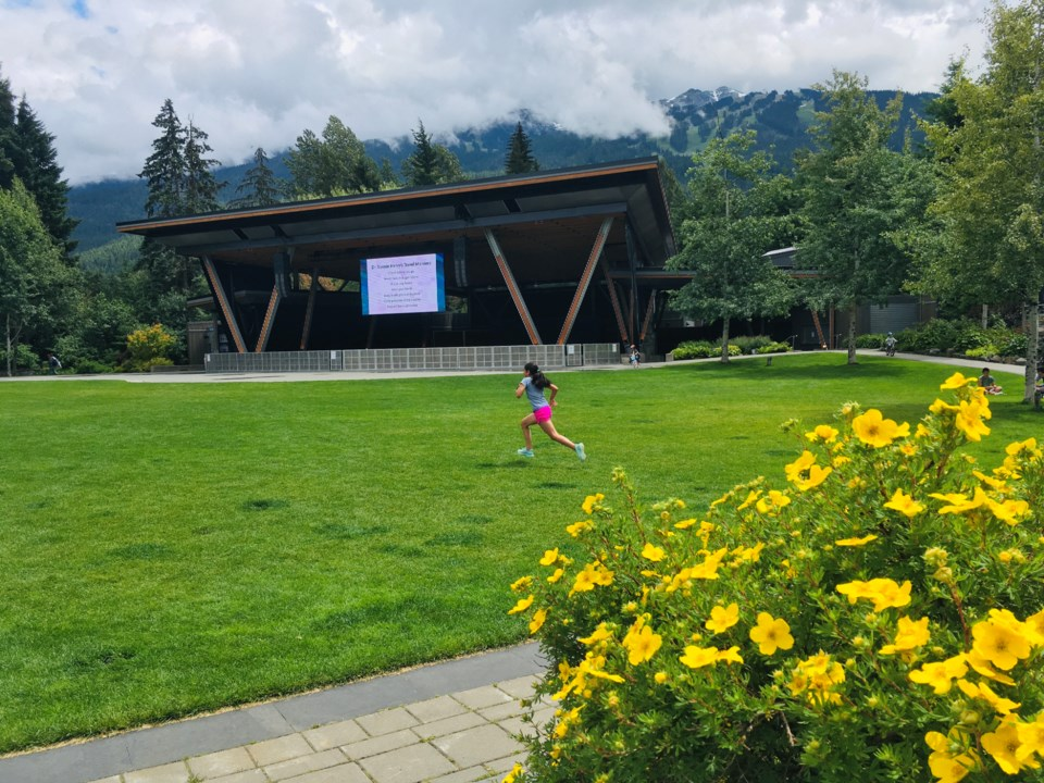 Whistler Olympic Plaza by Clare Ogilvie