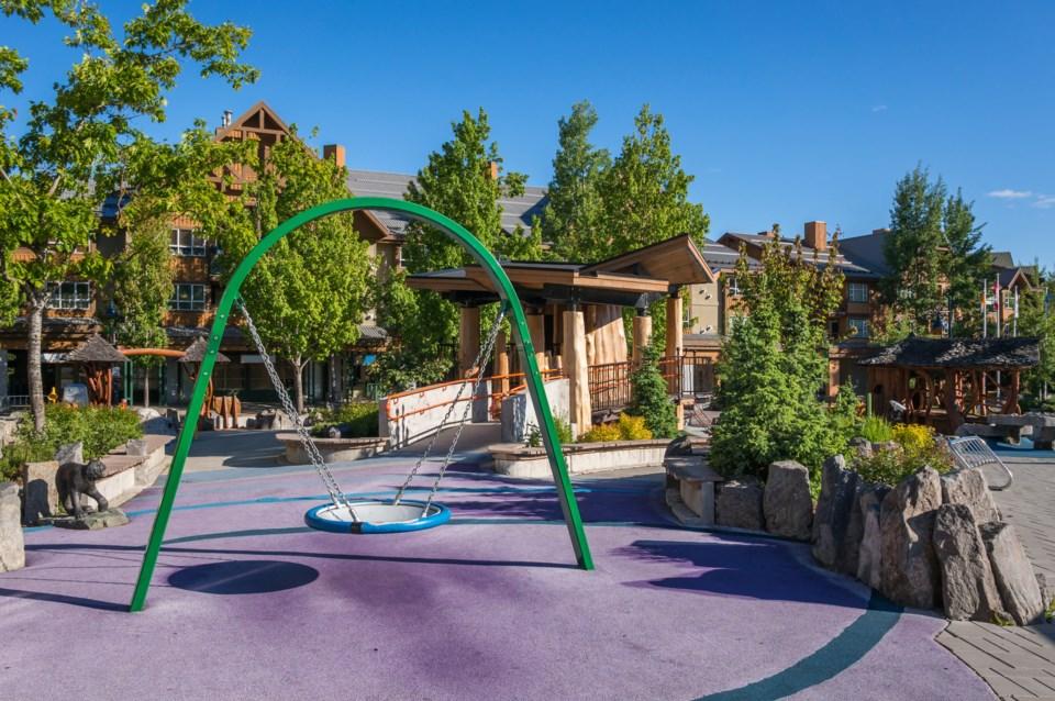 Whistler Olympic Plaza playground