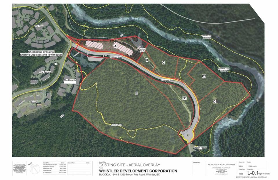 n-whistler CHeakamus housing plan