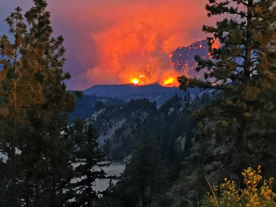 Lytton BC wildfire