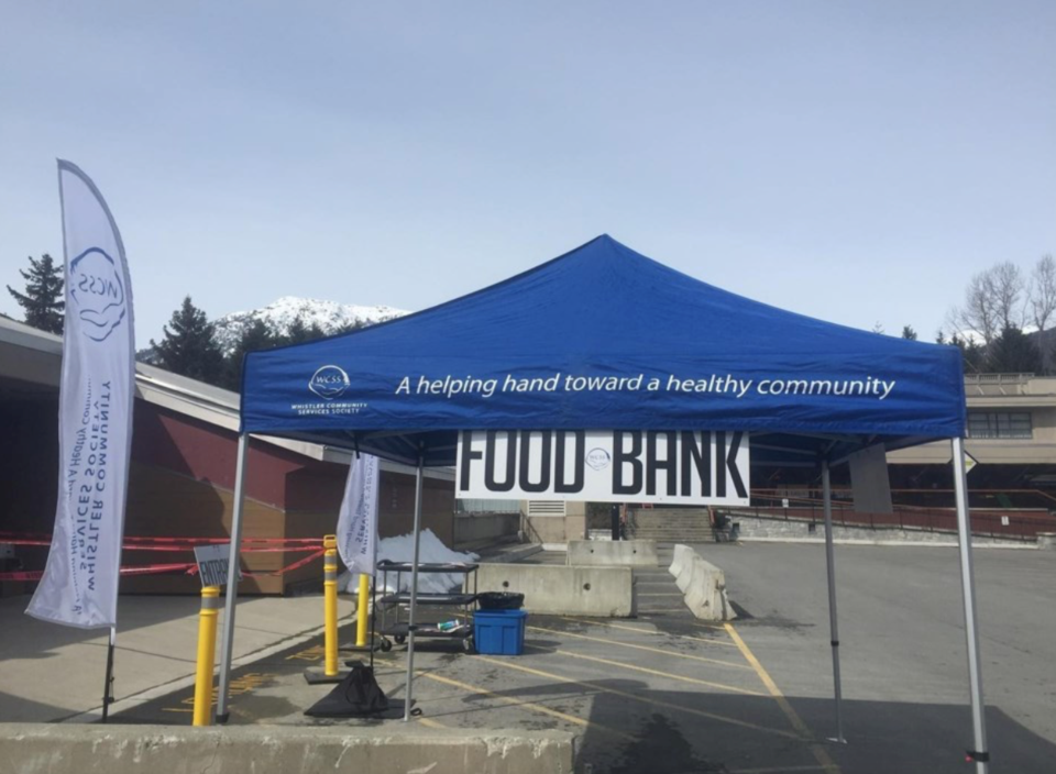 Screen Shot The newly relocated Whistler Food Bank is the beneficiary of a $10,550 donation from the Emerald Foundation. Photo courtesy of WCSS : Facebook