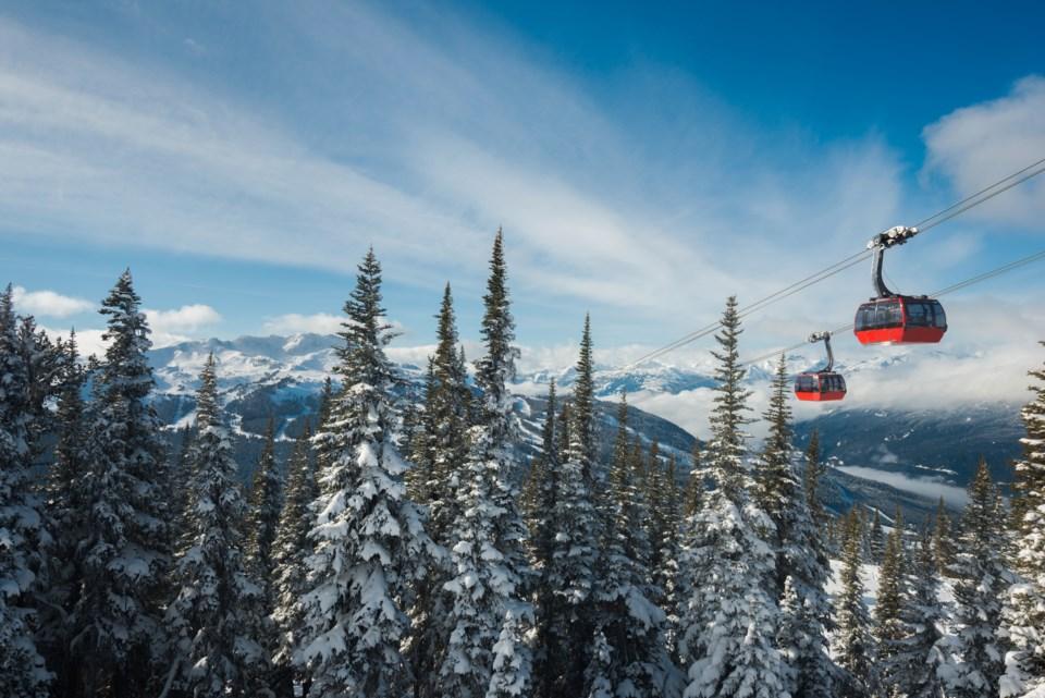 Peak to Peak Gondola Whistler Blackcomb
