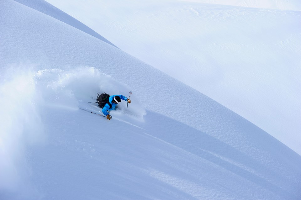 whistler backcountry skiing blower powder conditions