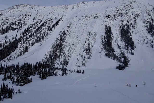 whistler poop chutes avalanche feb. 12 wayne flann
