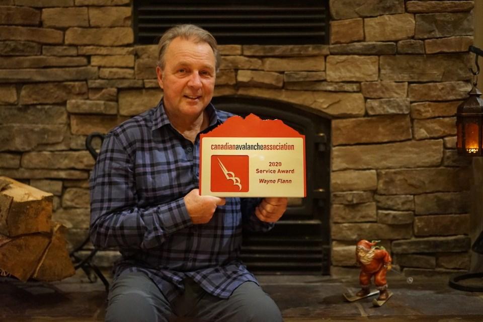 n-Whistler Wayne Flann Canadian Avalanche Association award