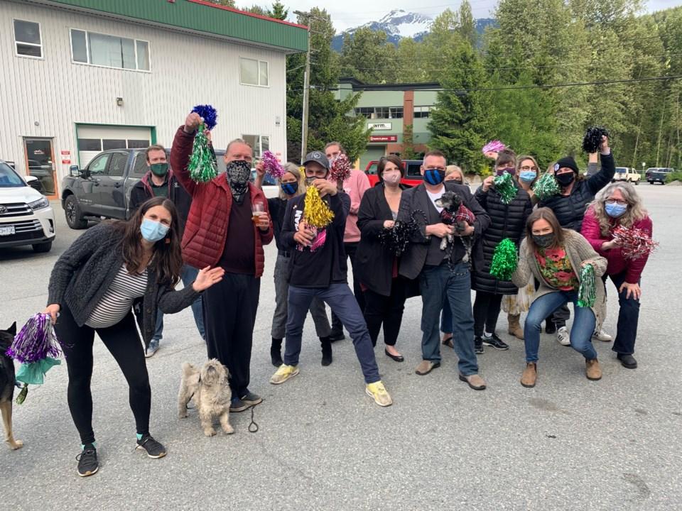 Whistler Pique Newsmagazine  Squamish Chief Ma Murray awards - covid-19