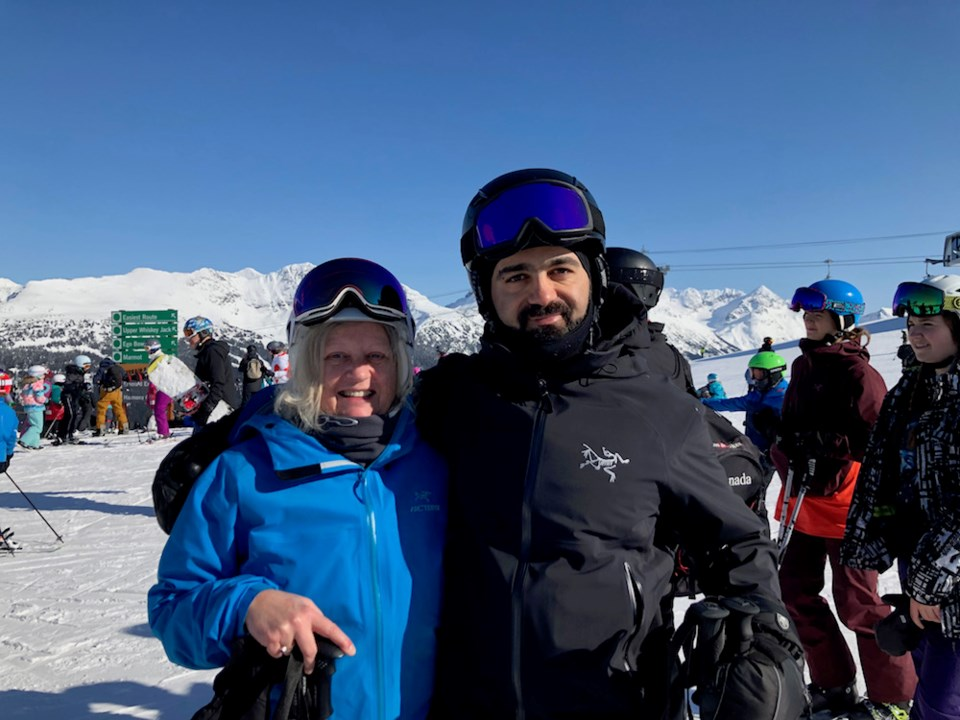 whistler syrian refugee ski instructor web