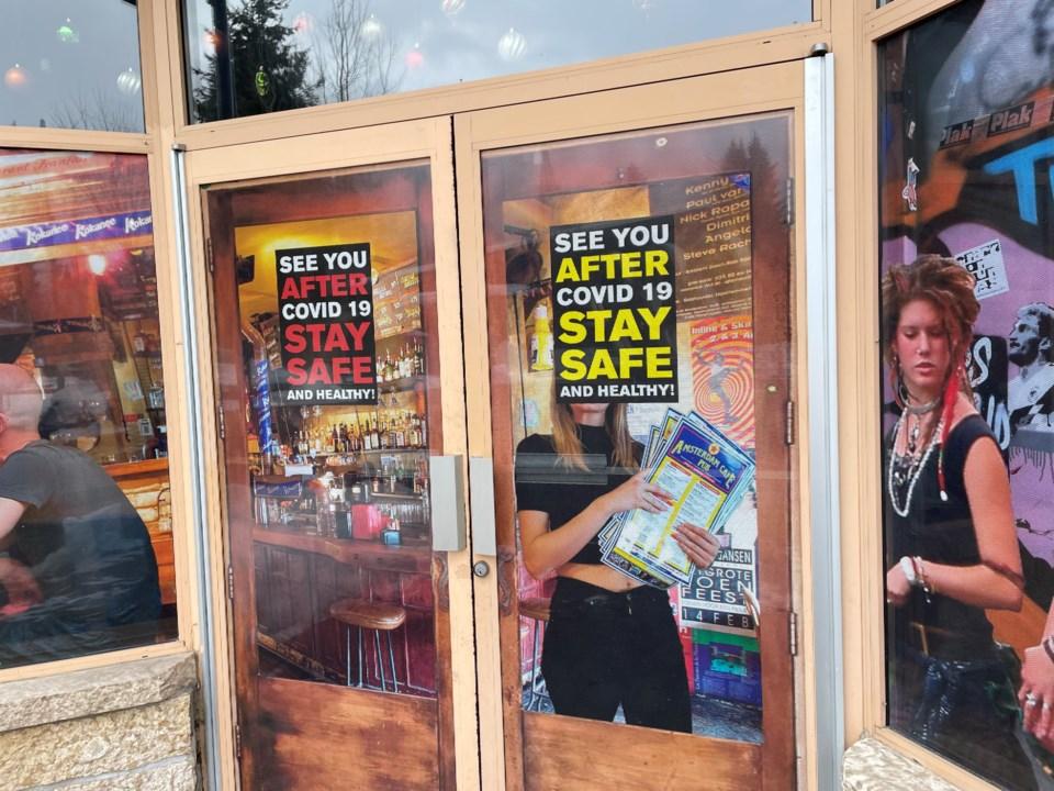 Closed businesses due to coronavirusIMG_8449