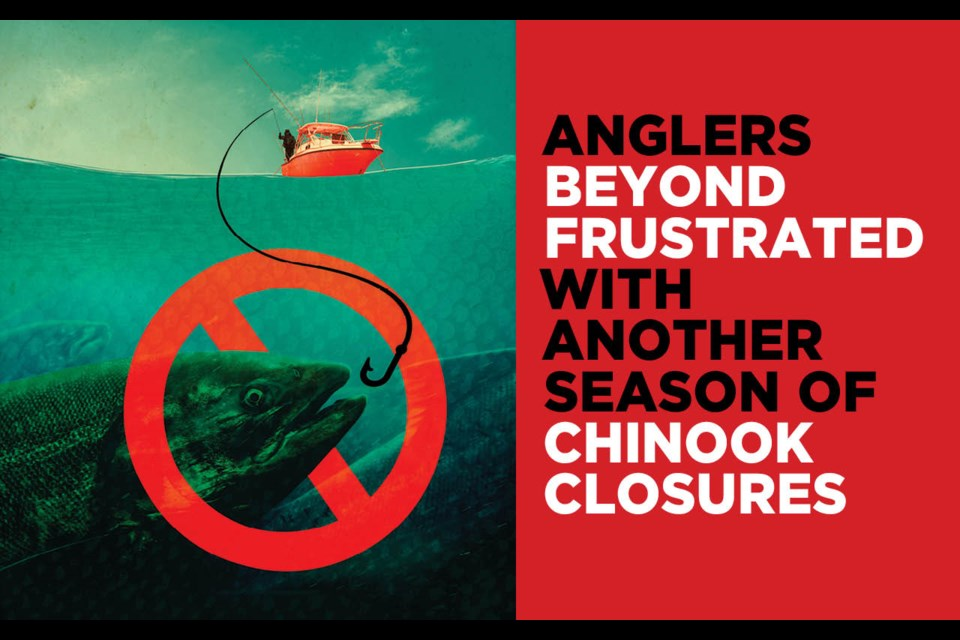 Anglers beyond frustrated with another season of chinook closures.