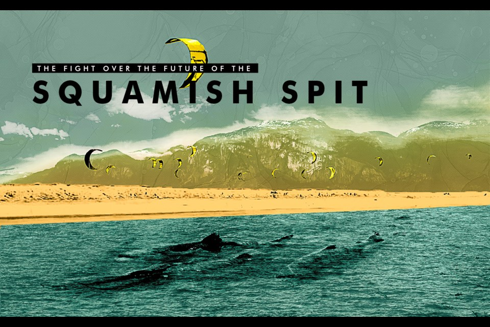 The fight over the future of the  Squamish Spit  Dismantling is set for October to improve estuary habitat, while wind-sporters want a solution for kiters and the wider community.