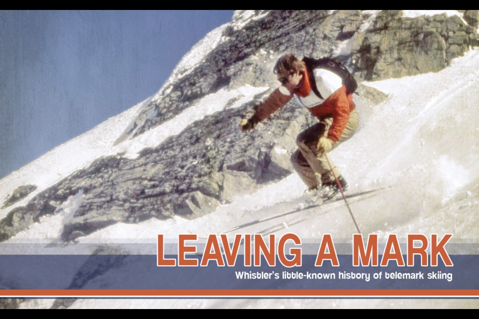 Donnie Campbell was hired as a telemark instructor by Whistler Mountain in the glory days of telemark skiing.