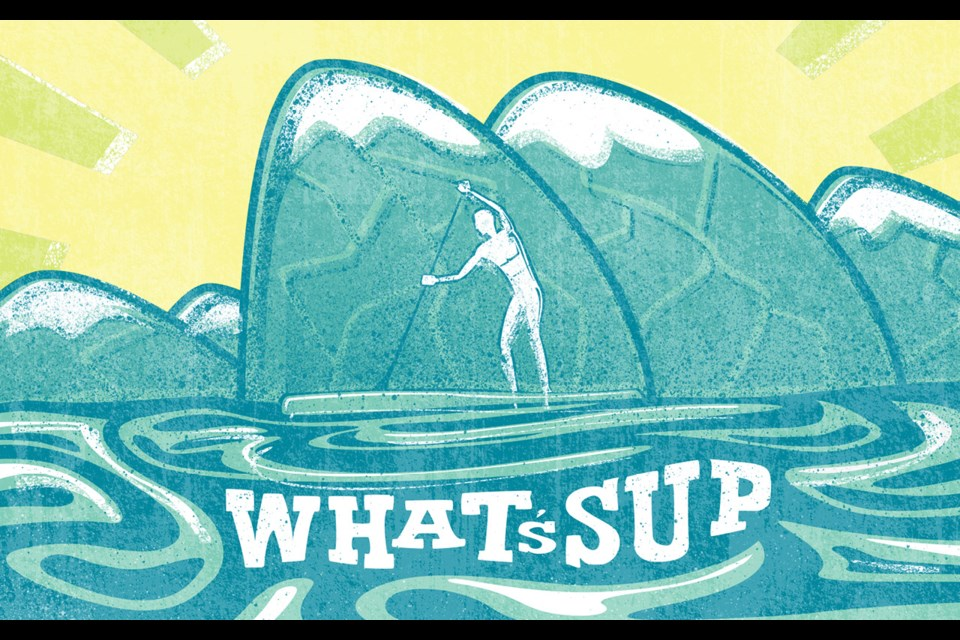 What's SUP Stand-up paddleboarding has successfully turned into Whistler's favourite watersport