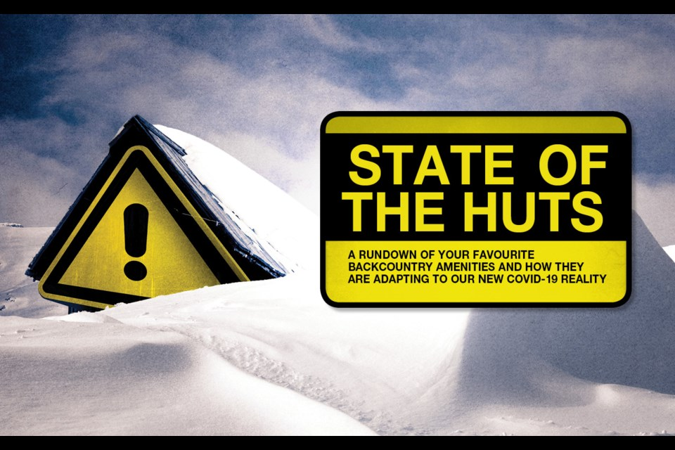 State of the huts - 