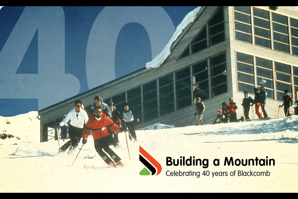 Building a Mountain - Celebrating 40 years of Blackcomb By G.D. Maxwell