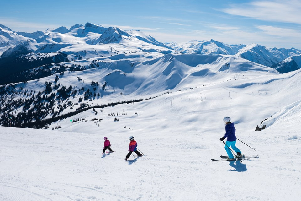 family skiing discount whistler blackcomb GettyImages