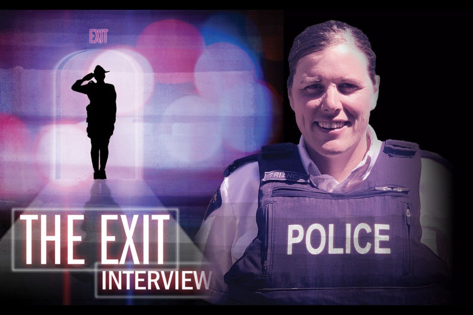 The exit interview Insp. Kara Triance looks back on four years as head of RCMP's Sea to Sky region  By Brandon Barrett