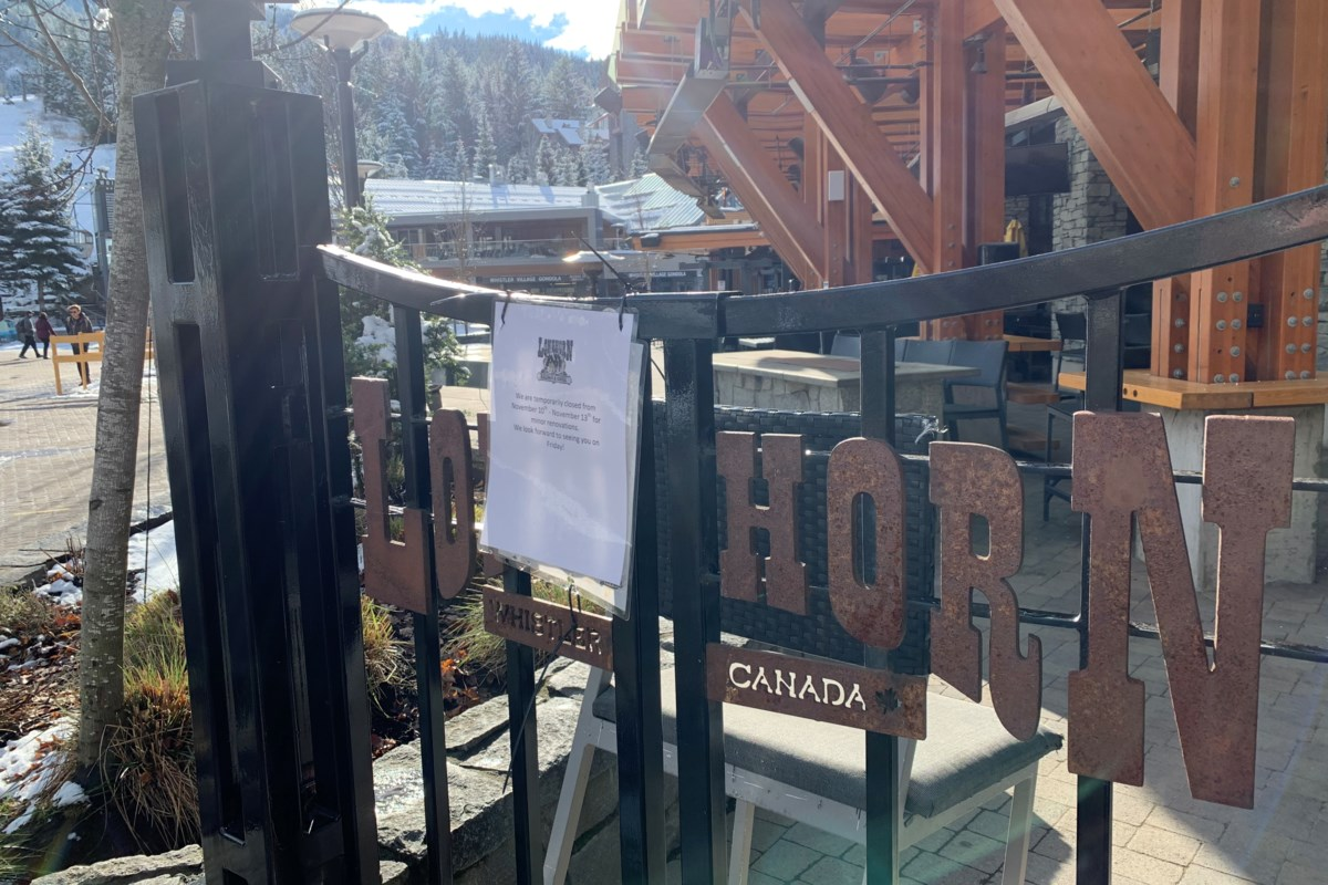 Upcoming weeks 'critical' for Whistler to get handle on COVID