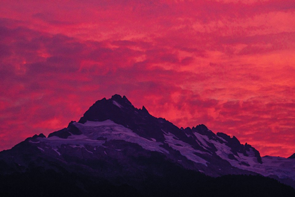 SEA TO SKY SUNSETThese stunning shots were snapped by local photographer Jorge Alvarez from the Tantalus lookout last week. Photo by Jorge Alvarez