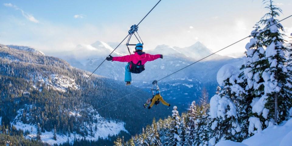 Superfly Ziplines TOURISM WHISTLER
