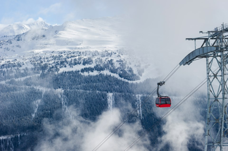 Whistler Blackcomb Edge Card Getty Images