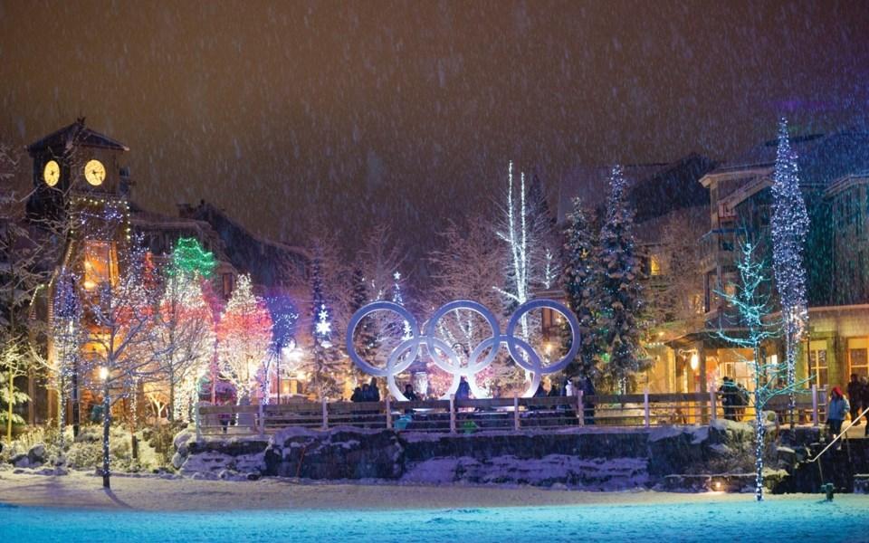 Whistler christmas lights