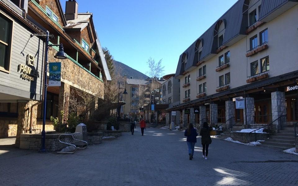 WHistler Village COVID