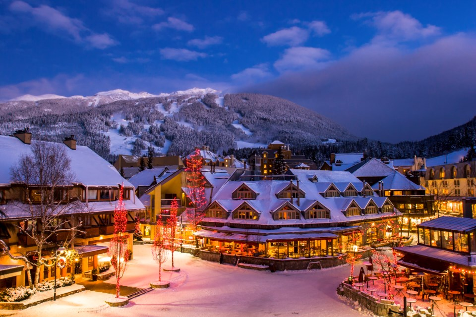Whistler Village Getty Images