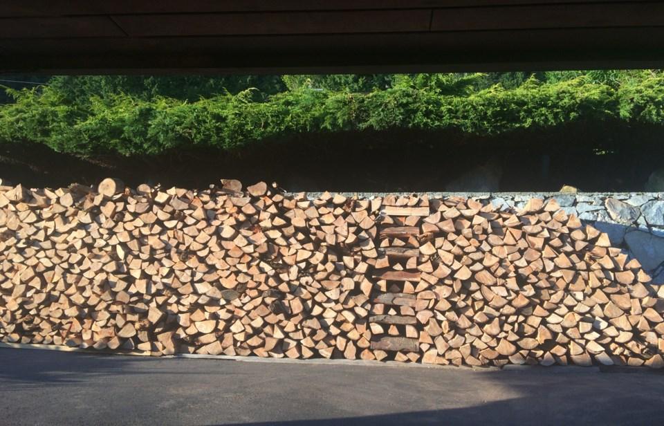 woodpiles by Mark grist North Van IMG_4490
