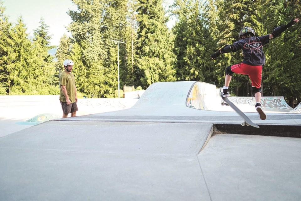 Adam Hopkins - Whistler Skateboard Club