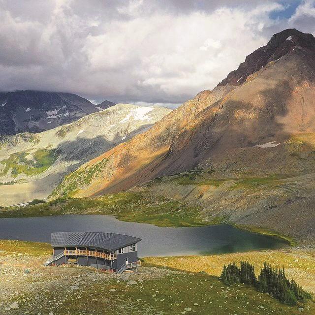 KC Hut - photo courtesy of Spearhead Huts Society 2