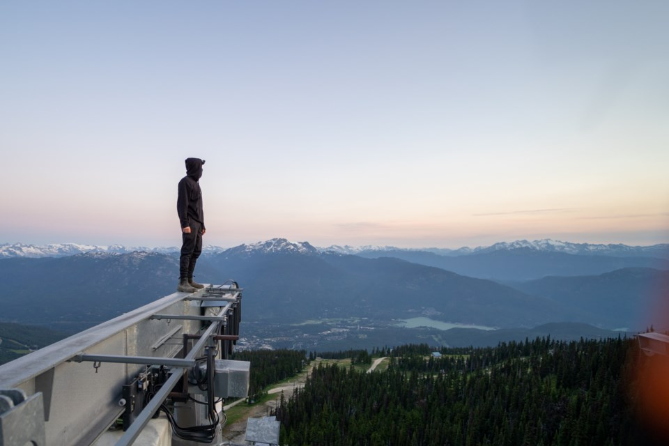 N - Gondola Climber - Photo by Chase TO