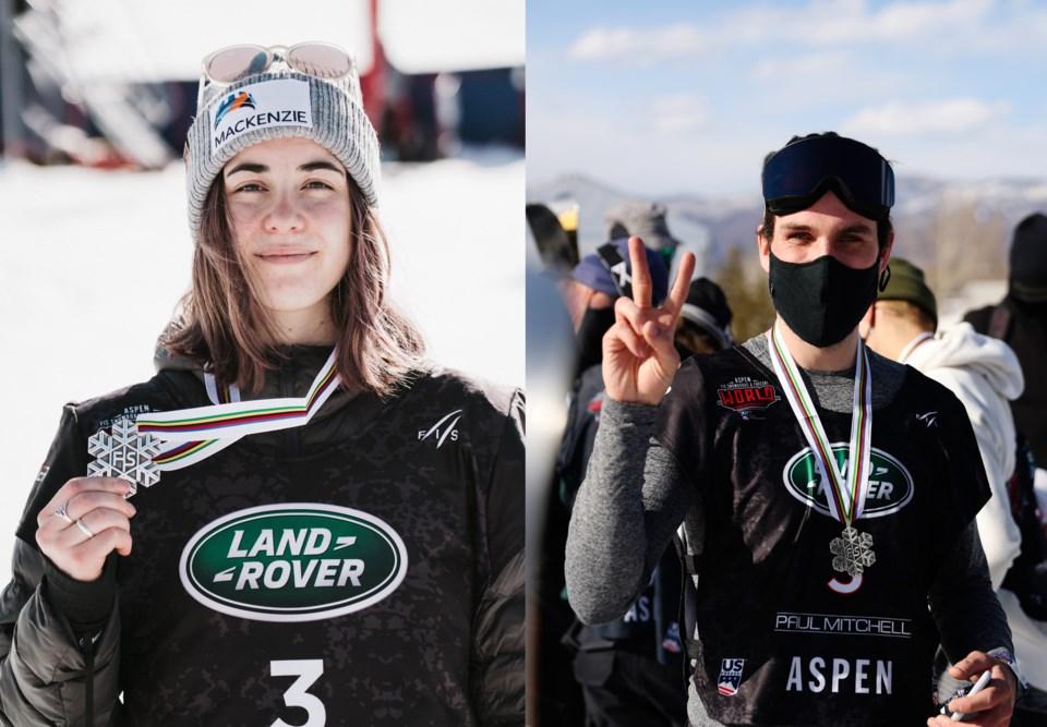 Rachael Karker- Ontario - Simon d'Artois - Whistler - halfpipe ski-WorldChamps-2021-Aspen
