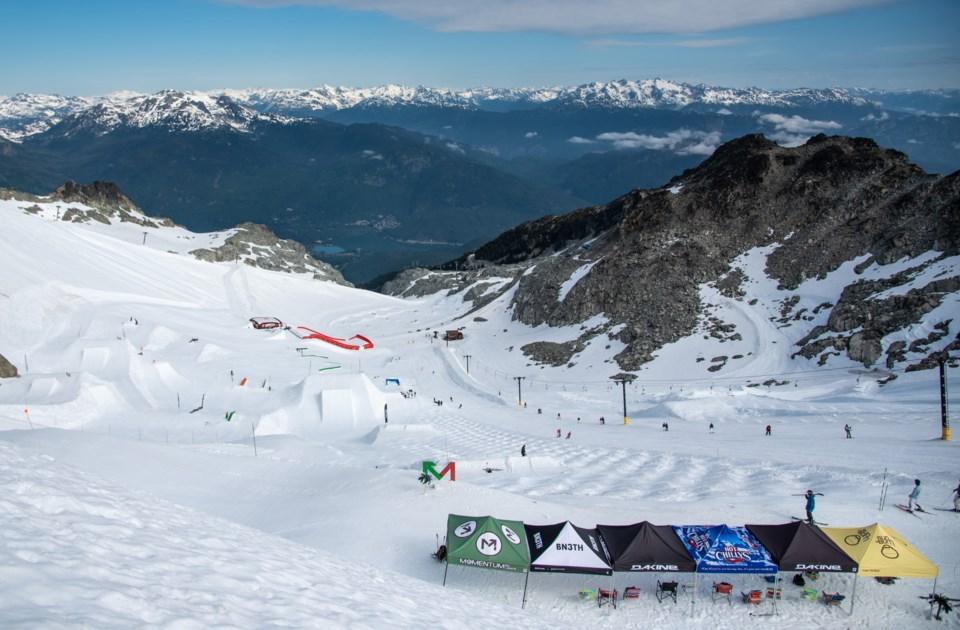S-glacier shutdown- photo by Megan LaHatte:Momentum Ski Camps