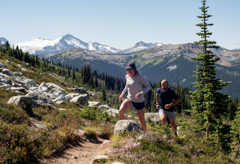 We Run Whistler - alpine trail running - BC