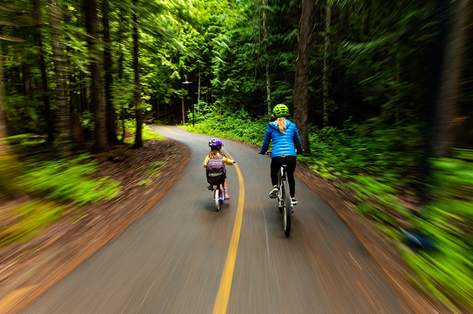bike to work week whistler valley trail GettyImages-1174267128