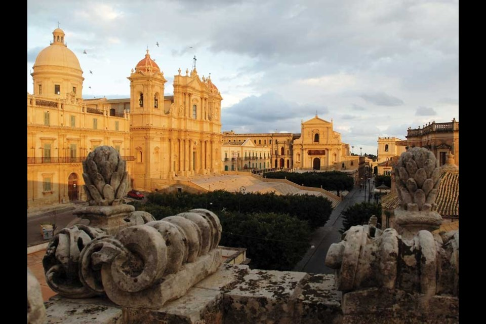 The town of Noto was rebuilt following a 1693 earthquake. Photo by GnuckX